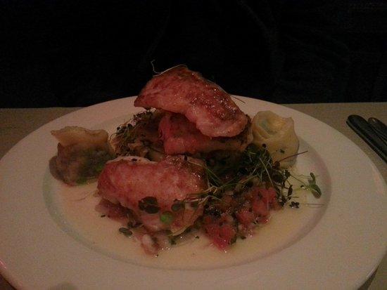 The Chophouse Gastro Pub: Grilled monkfish