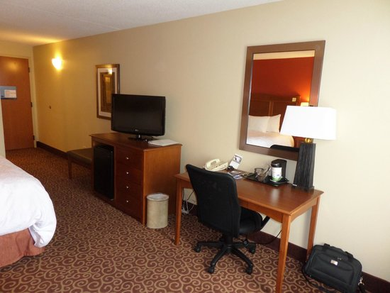 Hampton Inn Chicago-Carol Stream : Hotel room