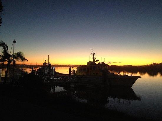 Calypso Holiday Park: an evening vista from the park