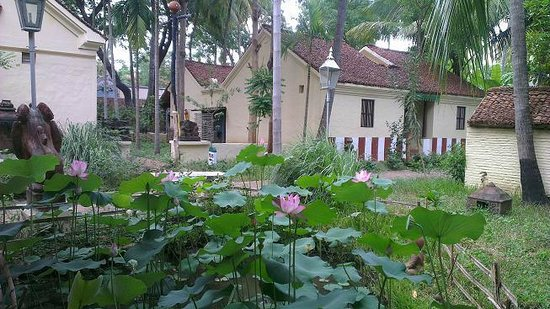 INDeco Swamimalai: Rooms near lotus pond