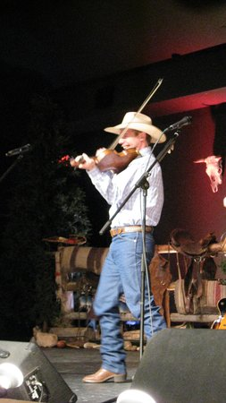 Ebenezer's Barn & Grill : The fiddler...