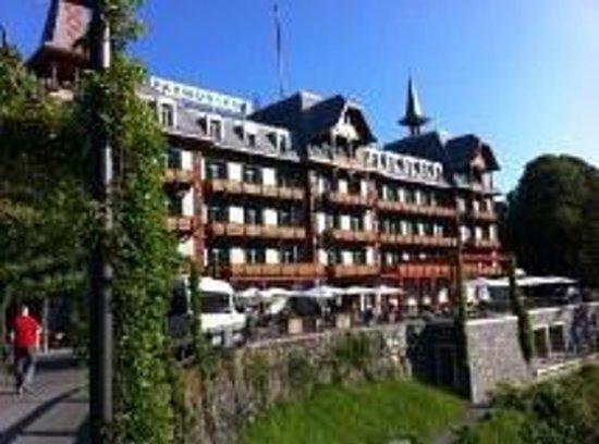 Jugendstilhotel Hotel Paxmontana : magnifique bâtisse
