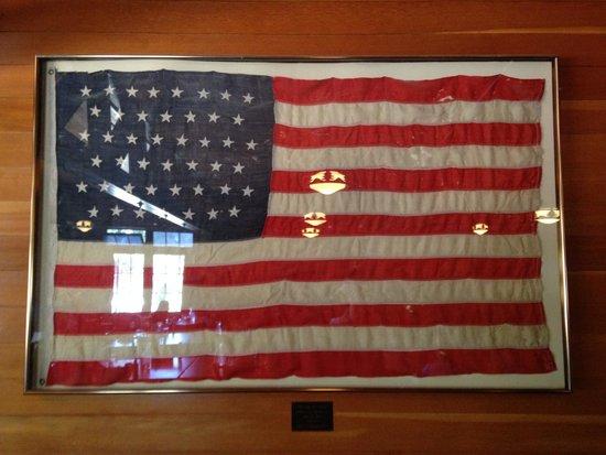 Bryce Canyon Lodge: Historic flag
