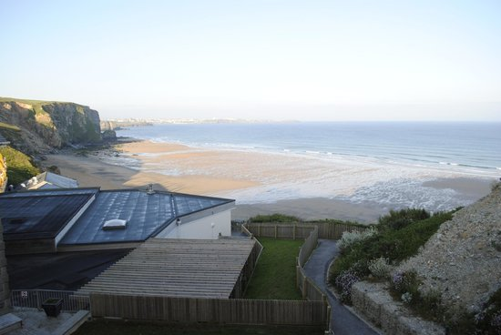 Watergate Bay Hotel: View from the room