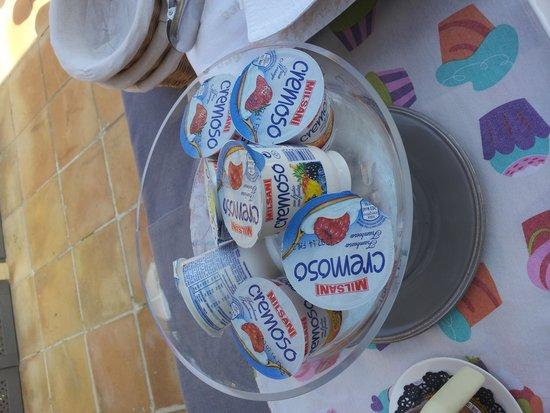 Sant Pere del Bosc Hotel & Spa : Yogures del ALDI en el desayuno