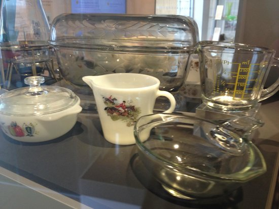 National Glass Centre: Pyrex - synonymous with Sunderland