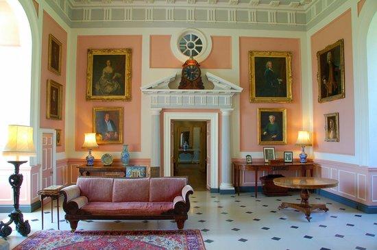Picton Castle & Gardens : Main Hall in Picton Castle