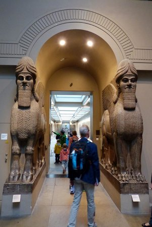 Assyrian rooms at the British Museum