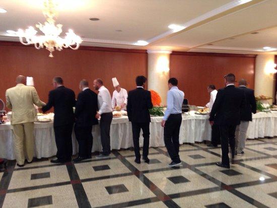 Grand Hotel Europa: Buffet matrimonio