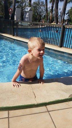 Hotel Roc Boccaccio: Very happy Kids in the pool area
