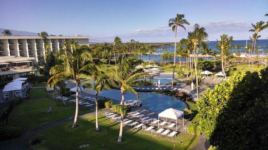 Waikoloa Beach Marriott Resort & Spa: View from pool side room