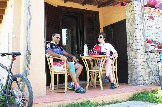 Villaggio degli Olivi: Bikers