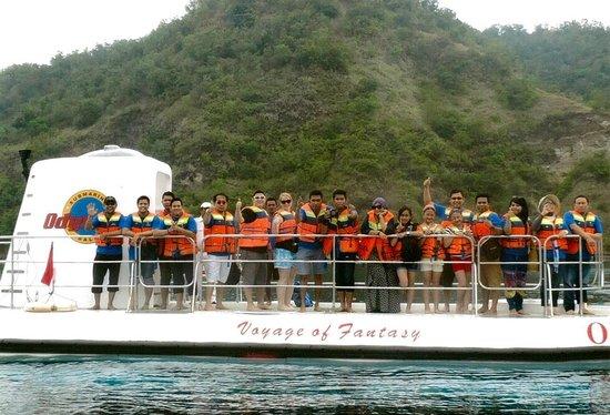 Odyssey Submarine Voyage of Fantasy: On board