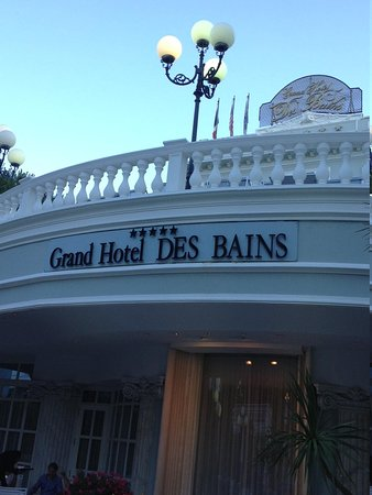 Grand Hotel Des Bains : elegant