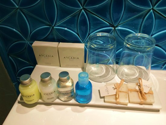 Hotel Arcadia Blue: ванная комната
