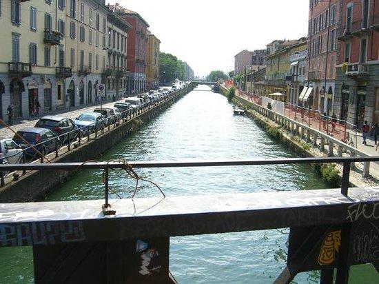 Barrio Navigli: канал
