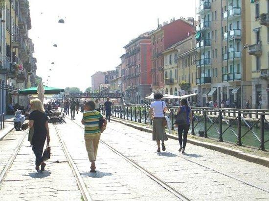 Barrio Navigli: улицы