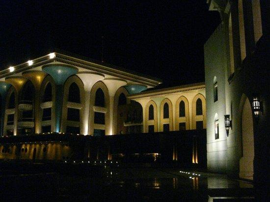 Königlicher Palast (Qaṣr al-ʿalam): Al Alam Royal Palace