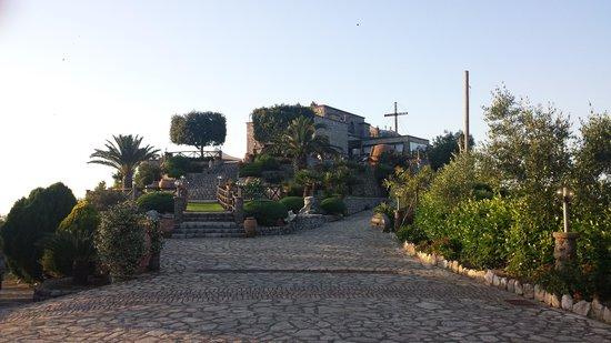 Ristorante Santa Croce Al Picco: Ingresso del ristorante