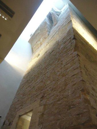 Galleria Nazionale dell'Umbria : Torre all'interno del percorso museale