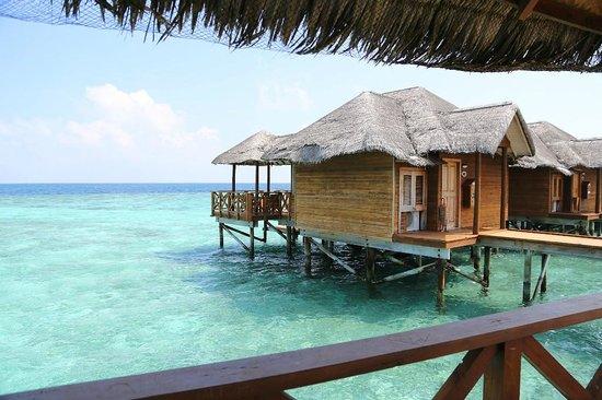Fihalhohi Island Resort : Домики на воде (самые дорогие)