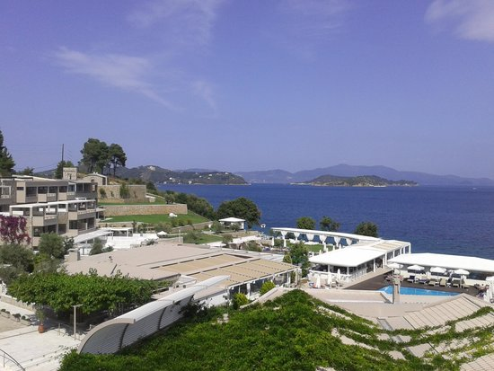 Kassandra Bay Resort & SPA: view from our balcony