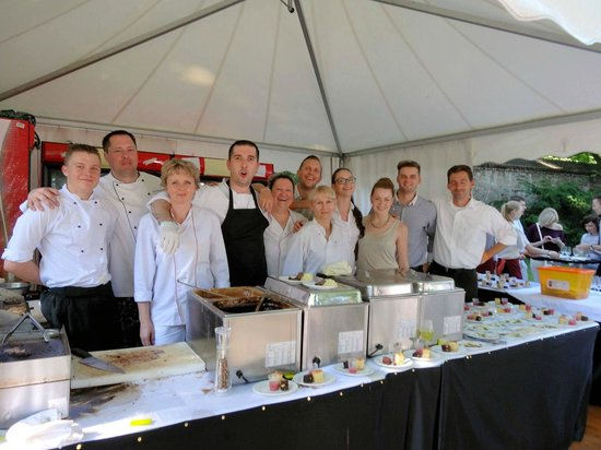 Wow what a great team! Prague food festival and yummies from U Emy Destinnove
