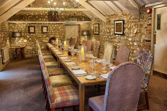 General Tarleton Restaurant: Private Dining in The Rafters