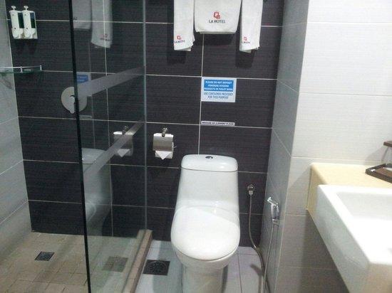LA Hotel: Shower