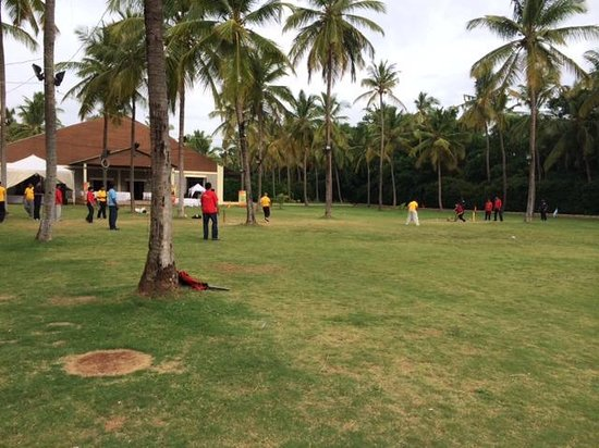 The Windflower Resort & Spa, Mysore : Cricket Ground & Party Lawn