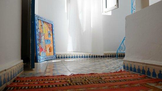 Riad Hotel Emeraude: Treppenhaus