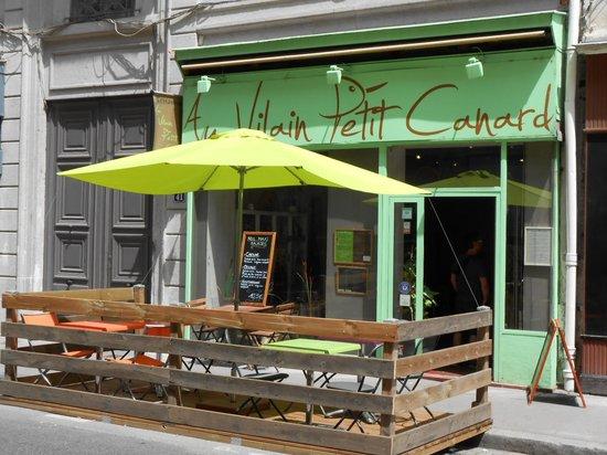 Au Vilain Petit Canard : le restaurant