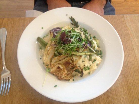 VitraHaus Cafe : risotto con asparagi