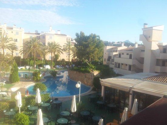 Plazamar Serenity Resort: Widok z balkonu pokoj1215