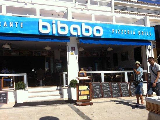 Bibabo Restaurante : Front