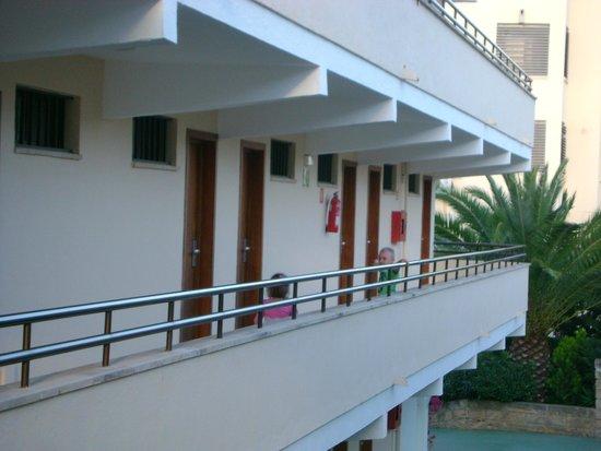 Plazamar Serenity Resort: Korytarz