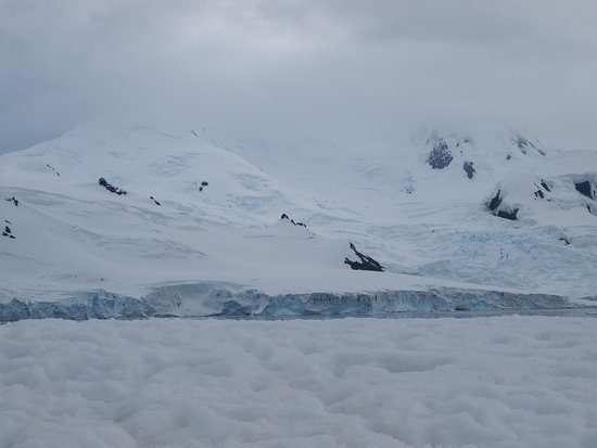 Half Moon Island: Halfmoon Island, South Shetland Islands, Antarctica