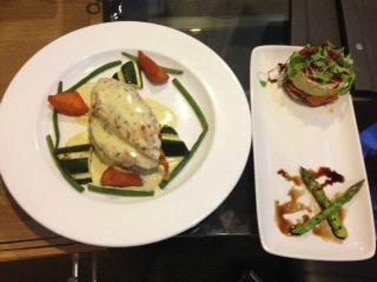 Hilton Birmingham Metropole Hotel: Dinner