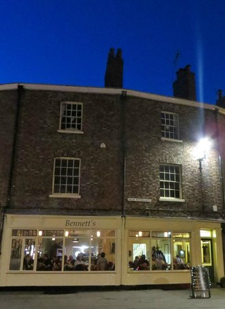 Bennett's Cafe & Bistro: Located on High Petergate