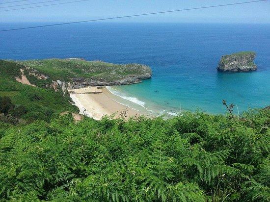 Playa de la Ballota : playa ballota