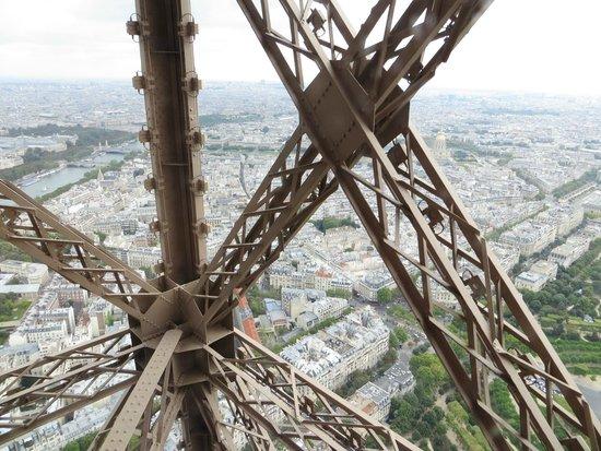 Tour Eiffel : particolare della torre