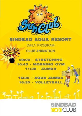 Sindbad Aqua Hotel & Spa : Ne european animation team- let's get happy@Sindbad Club