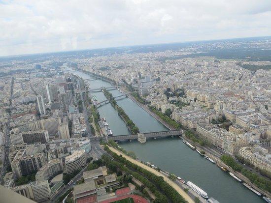 Tour Eiffel : Scorcio di città dalla torre