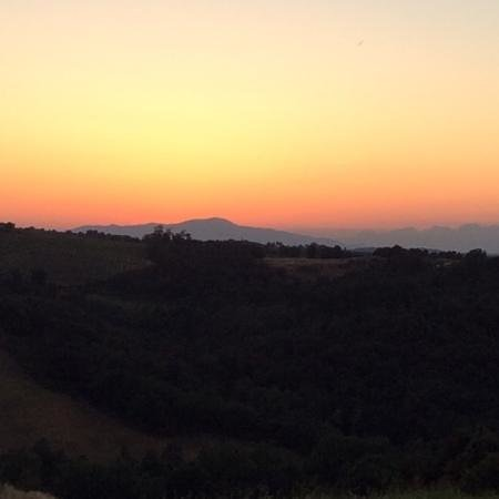 Tenuta Sant'Ilario: memorable sunset with *wine (optional*)