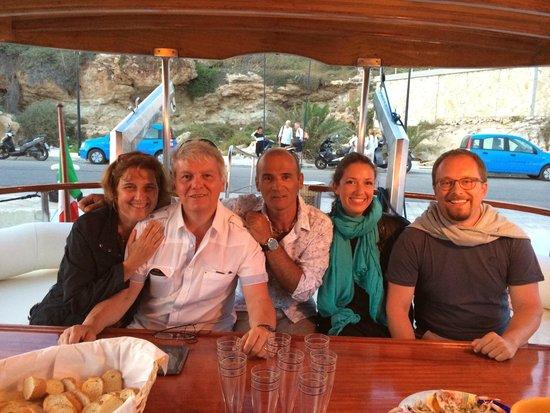 La Rosa dei Venti: cena in barca