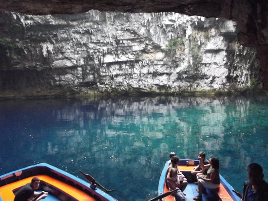 Melissani Cave: what a view
