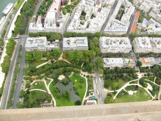 Tour Eiffel : Panorama dalla torre