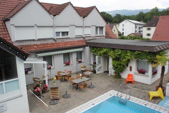 Hotel Nagel: Innenhof