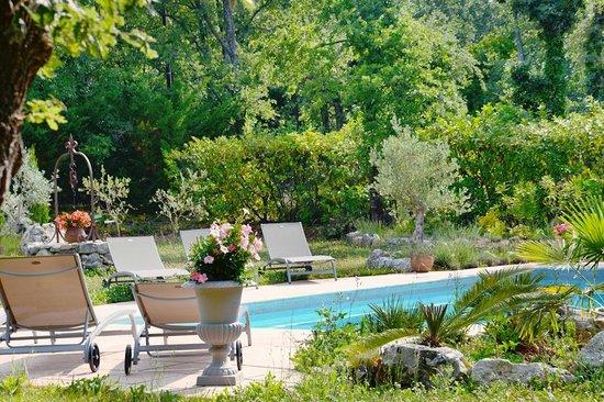 Le Clos d'Eima : La piscine