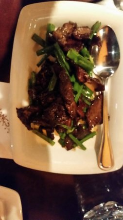 P.F. Chang's: beef